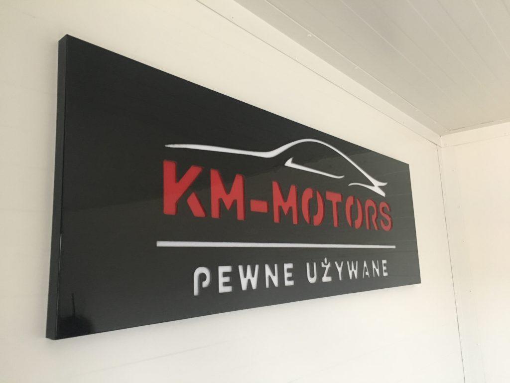 baner km-motors pewne używane